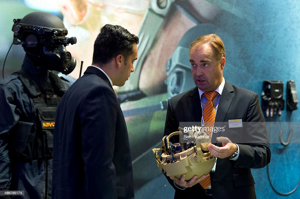 Defence And Security Exhibition 2015 : News Photo