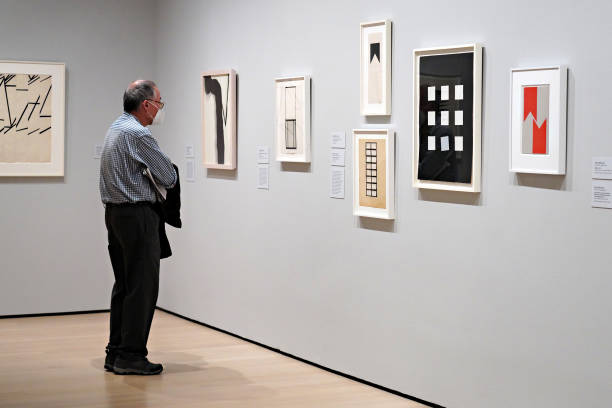 """NY: """"Degree Zero: Drawing At Midcentury"""" Exhibit Press Preview"""