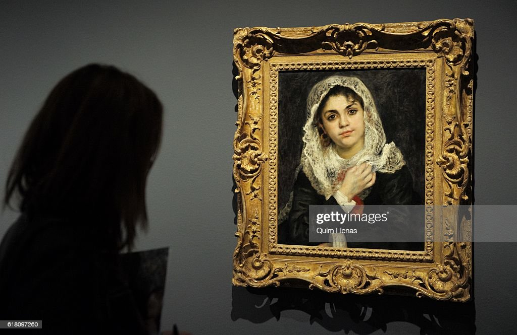 'Renoir: Intimidad' Exhibition at Thyssen Museum : News Photo