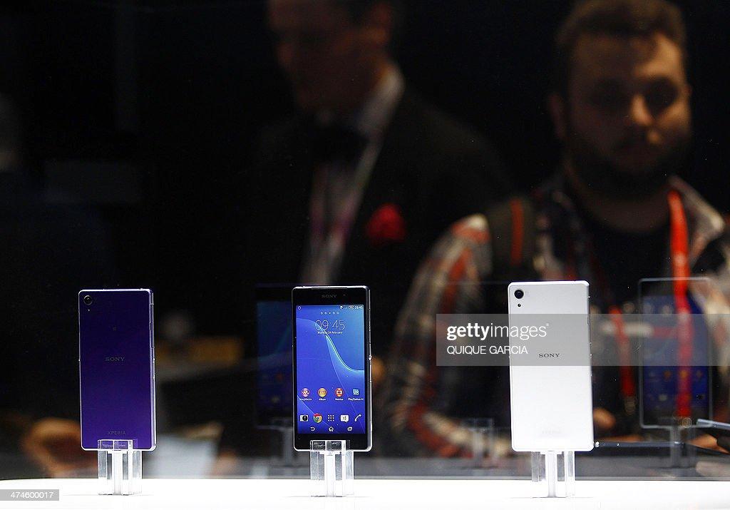SPAIN-TECHNOLOGY-MOBILE-WORLD-CONGRESS : News Photo