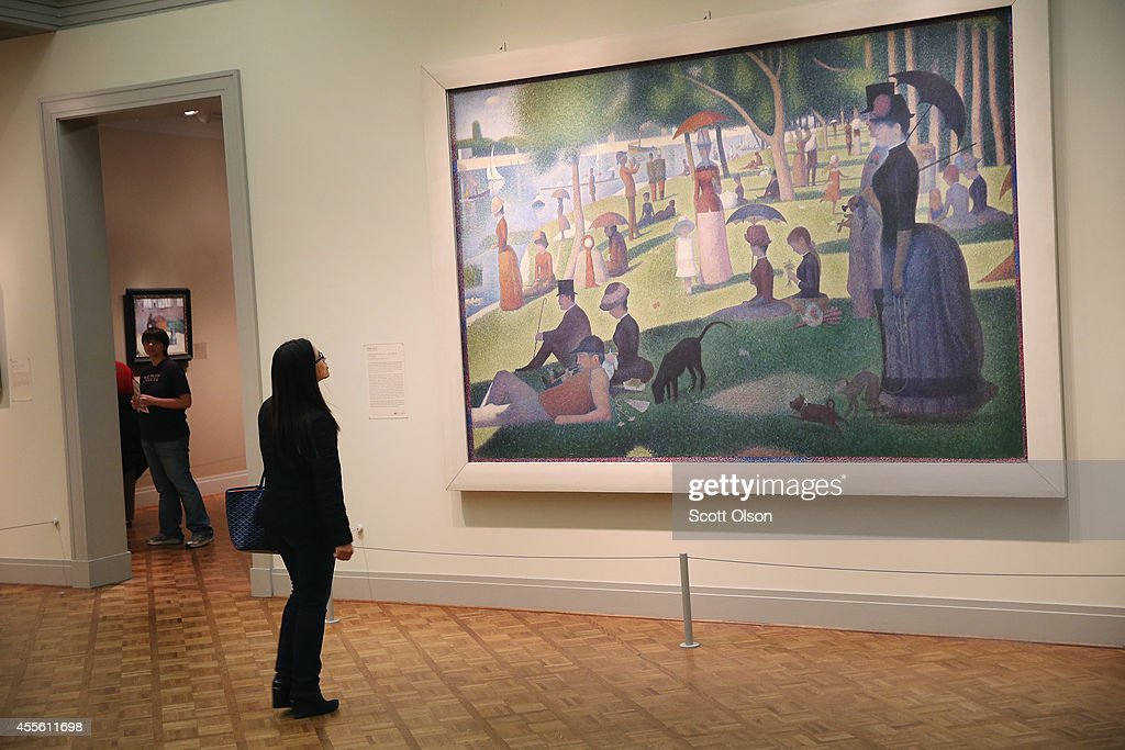 New Survey Ranks Chicago's Art Institute Top Museum In The World : News Photo