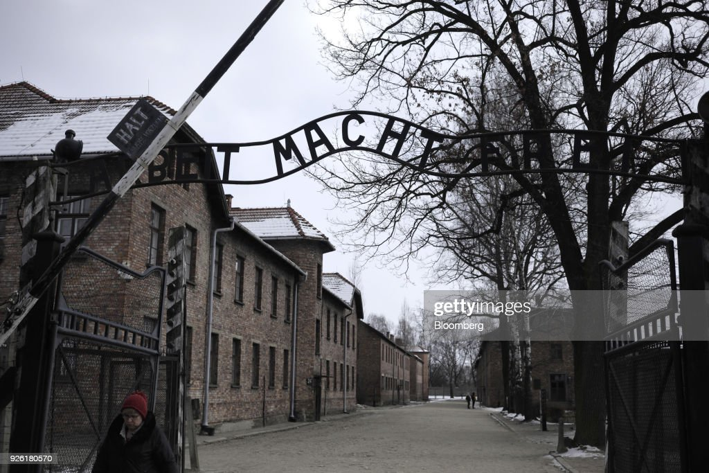 Auschwitz Death Camp As History's Lessons Mangled By Polish Holocaust Law : News Photo