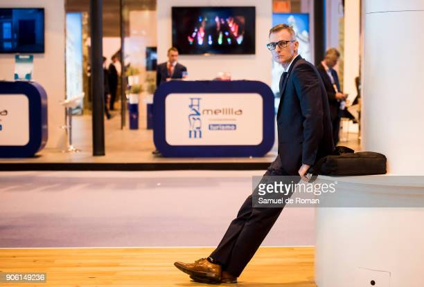 Visitor relaxing at FITUR International Tourism Fair 2018 at Ifema on January 17 2018 in Madrid Spain Prime Minister Mariano Rajoy confirmed that...