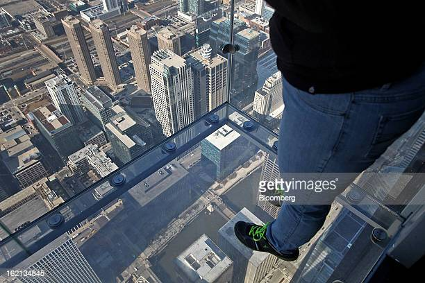 38 Views From Atop The Willis Tower Photos And Premium High Res Pictures Getty Images
