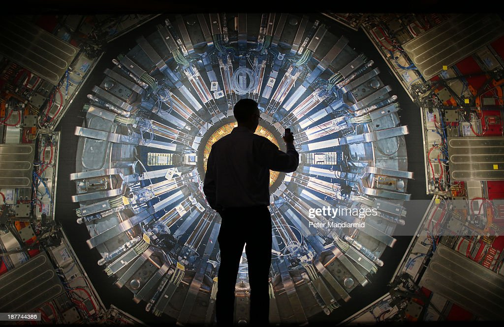Prof Peter Higgs Opens Collider Exhibition At The Science Museum : News Photo