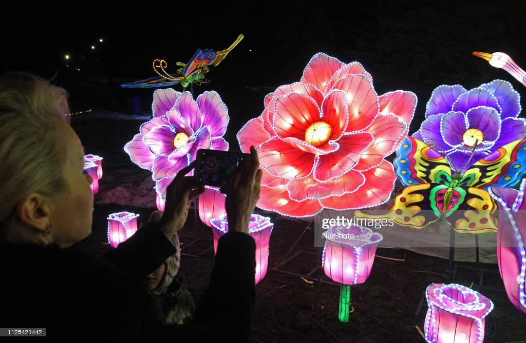UKR: Chinese Lanterns Festival In Ukraine