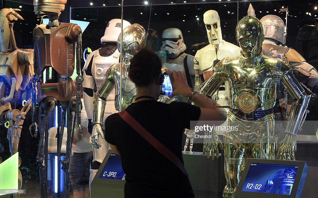 'Star Wars' : Extended Term At La Cite Du Cinema : News Photo