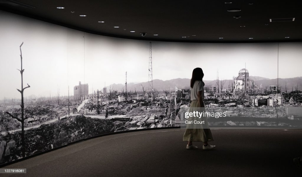 Hiroshima Prepares For the 75th Anniversary of Atomic Bombing : News Photo