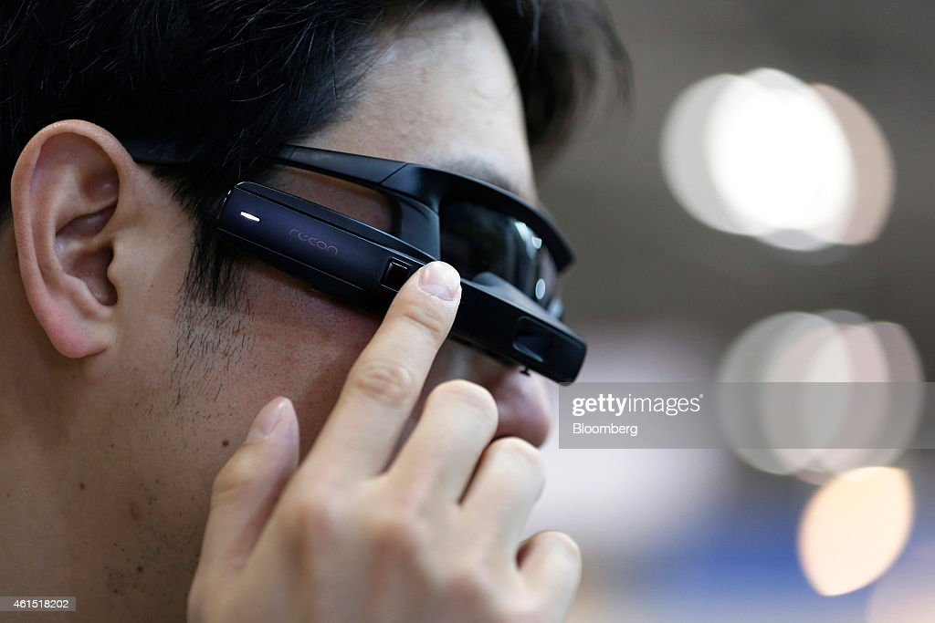 Latest Products At The Wearable Device Technology Expo : News Photo