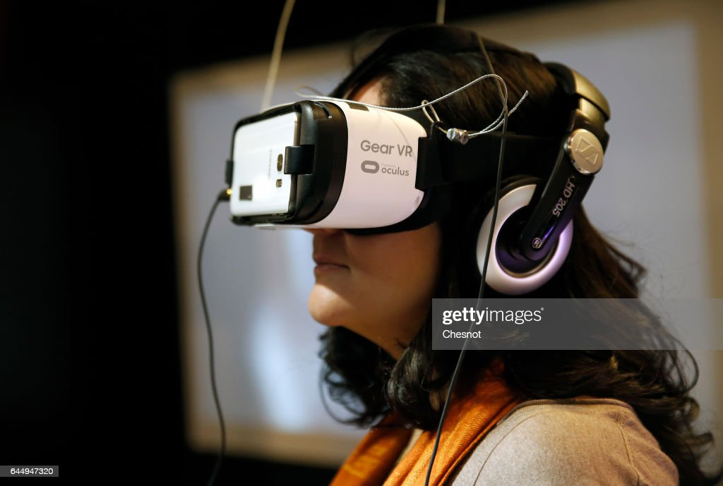 """""""Virtuality 2017"""" : Virtual Reality Show At Le 104 In Paris : News Photo"""