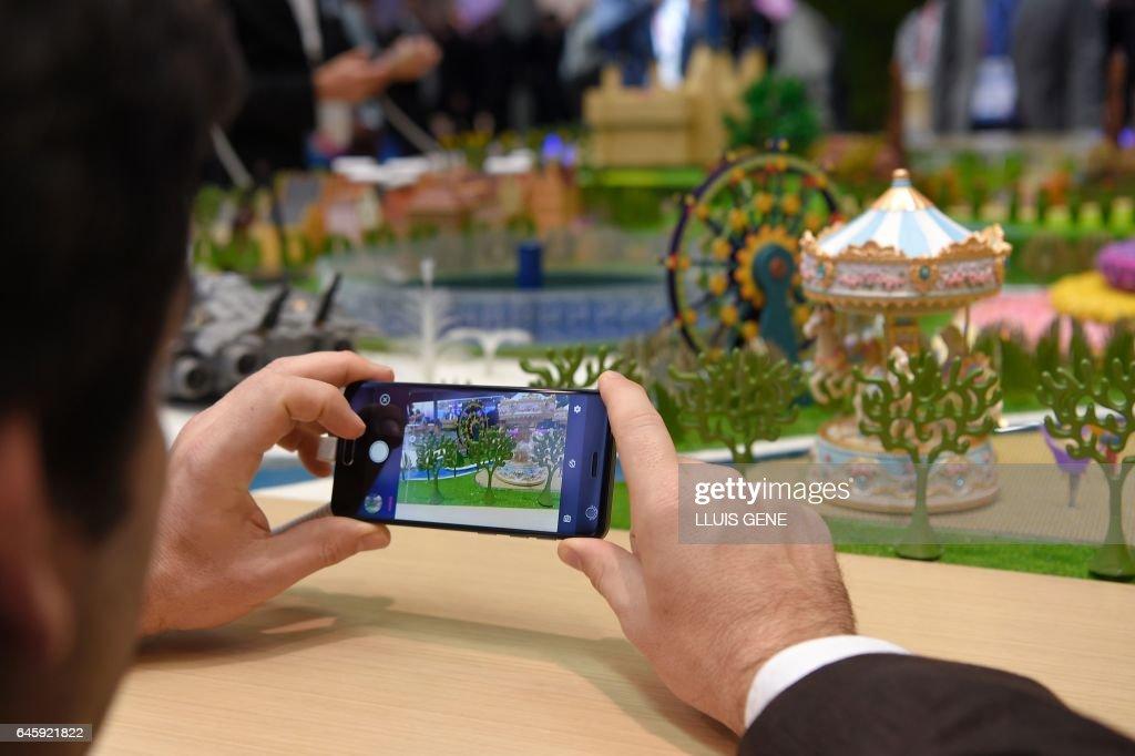 SPAIN-TELECOM-MWC-MOBILE-WORLD-CONGRESS : News Photo