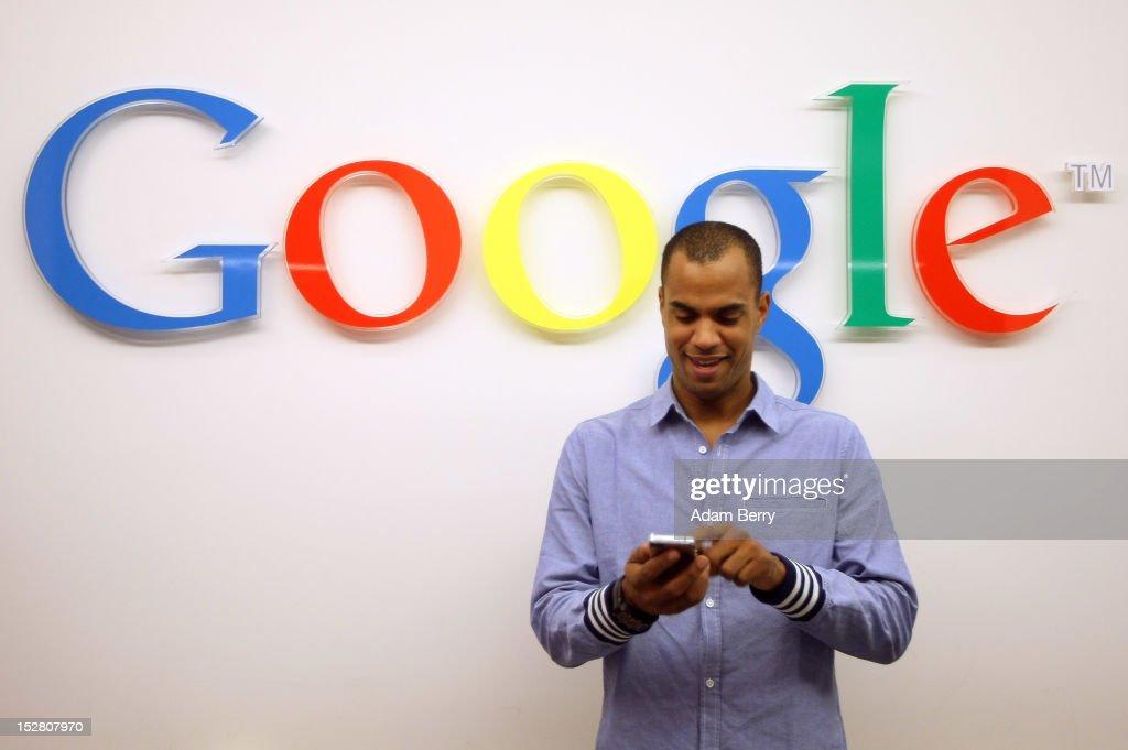 Google Opens New Berlin Office : News Photo