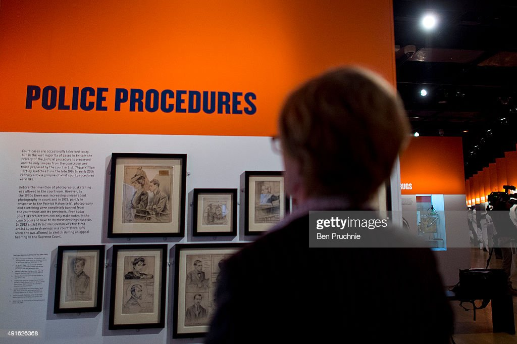 Museum Of London Previews The Met Crime Museum Uncovered Exhibition : News Photo