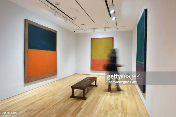 A visitor views works by Mark Rothko at the Phillips Collection on Thursday January 12 2017 in Washington DC