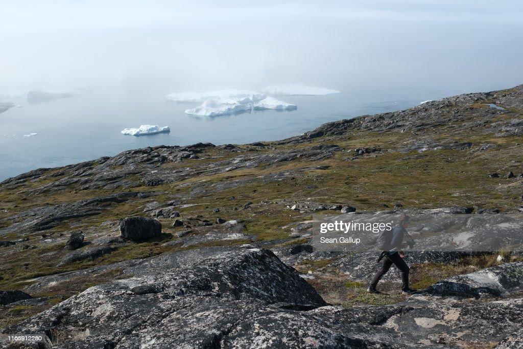 Western Greenland Hit By Unseasonably Warm Weather : News Photo