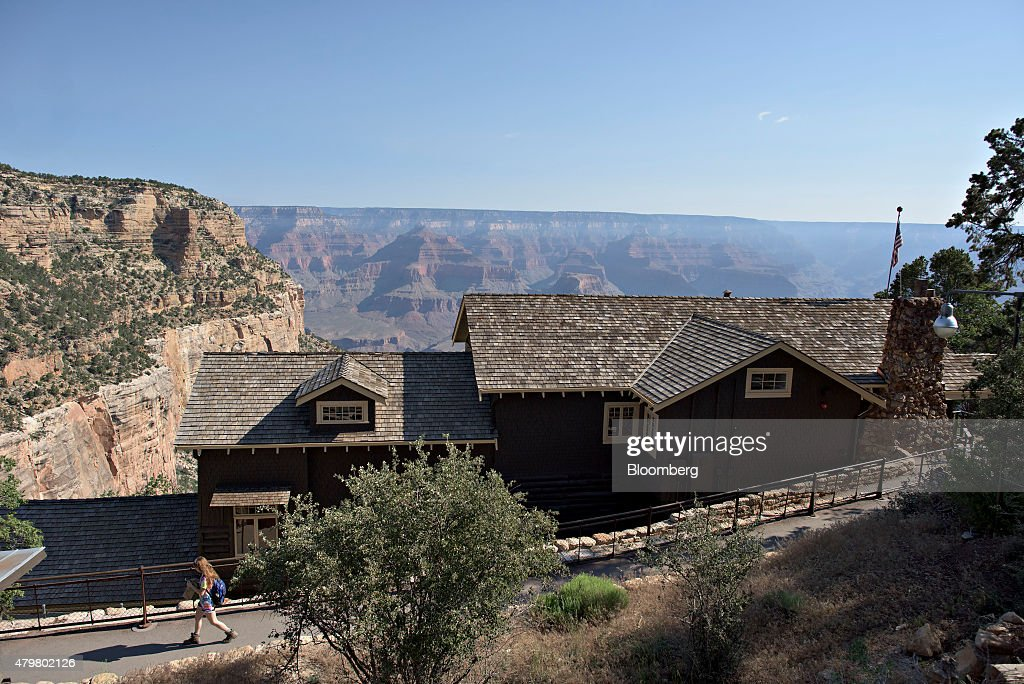 Views Of Grand Canyon National Park As Tourism Rises : News Photo