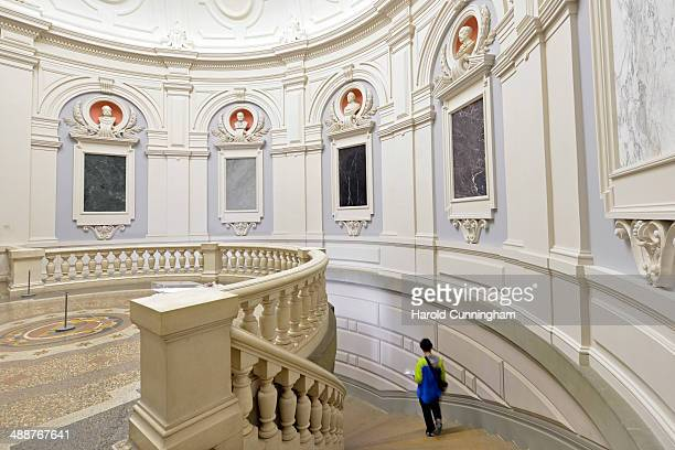Visitor walks in the Museum of Fine Arts Bern on May 8, 2014 in Bern, Switzerland. The Kunstmuseum Bern has been informed yesterday by the lawyer of...