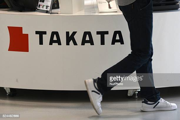 A visitor walks past displays of Takata Corp at a showroom for vehicles in Tokyo May 20 2015 Japanese air bag manufacturer Takata Corp is declaring...