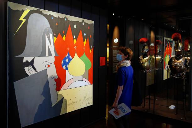 "FRA: ""Napoleon? Encore!"" Exhibition : Press Preview At Musee Des Armees In Paris"