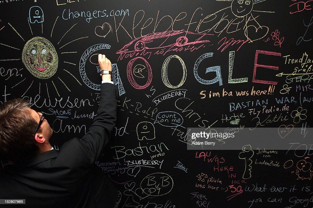 Google Opens New Berlin Office : Nieuwsfoto's