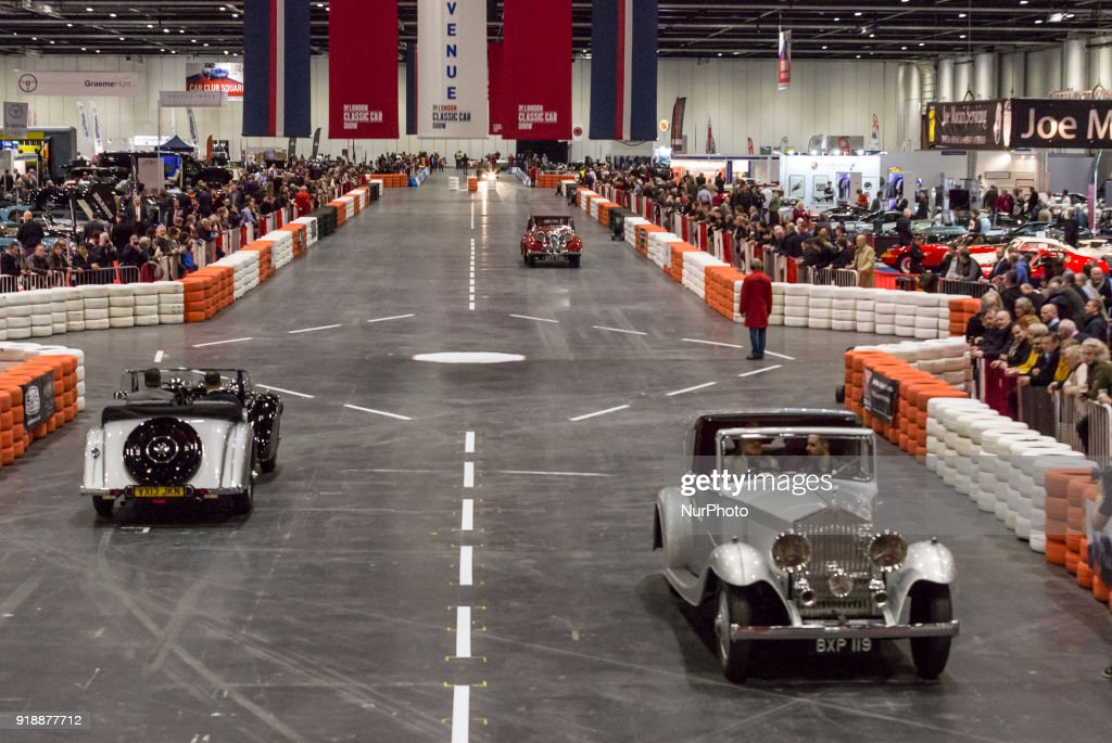 London Classic Car Show Photos And Images Getty Images - London classic car show 2018