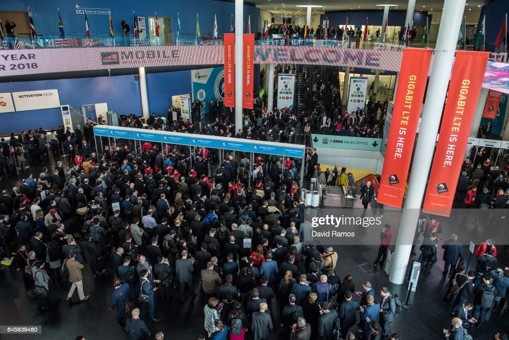 Opening Day Of The Mobile World Congress : News Photo