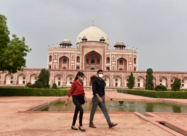 IND: Delhi Monuments Re-Open To The Public After Lockdown
