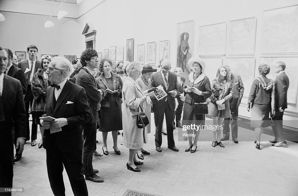 Royal Academy Private View : News Photo