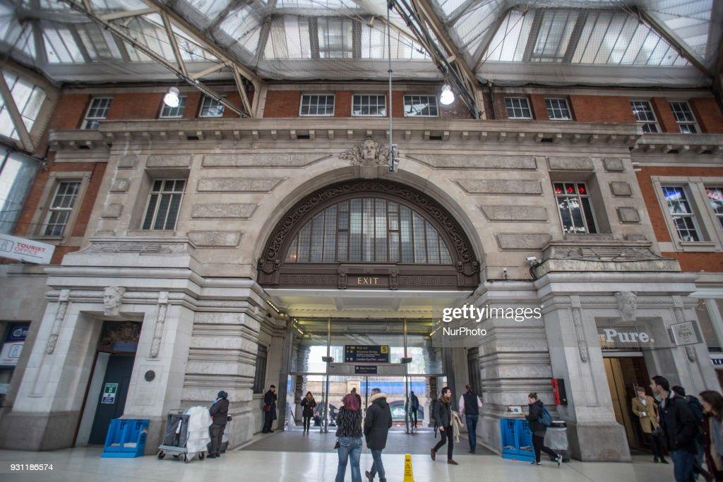 London Waterloo station : News Photo