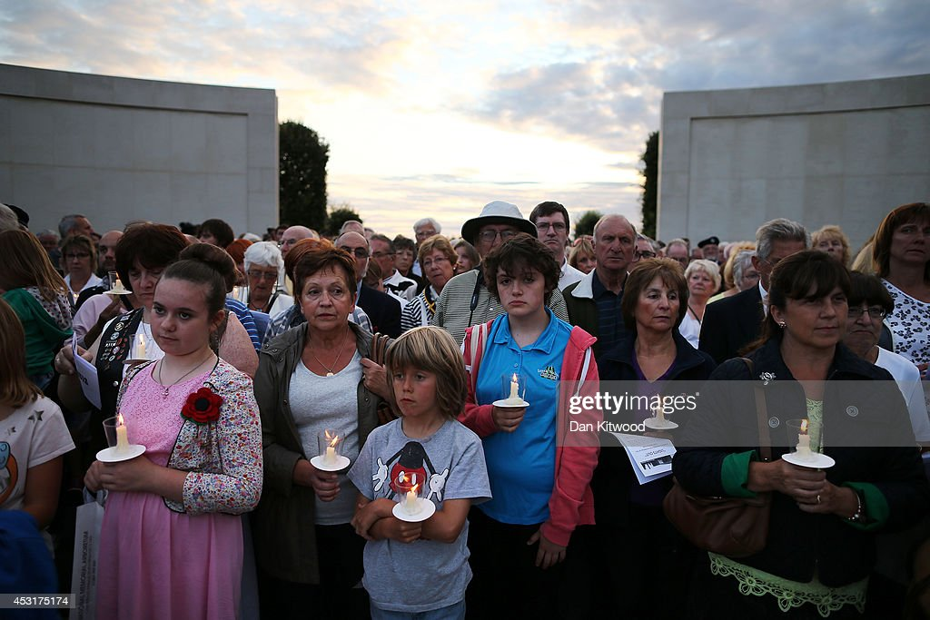 GBR: Candlelit Vigil At The National Memorial Arboretum