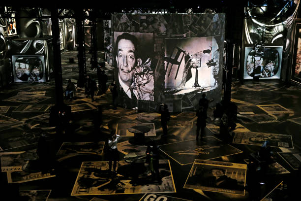 "FRA: ""Dali, The Endless Enigma"": Digital Exhibition At Atelier Des Lumieres In Paris"
