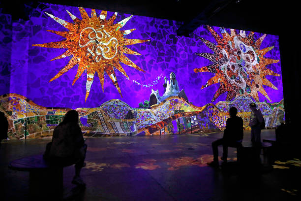 """FRA: """"Gaudí, The Architect Of The Imaginary"""": Digital Exhibition At Atelier Des Lumieres In Paris"""
