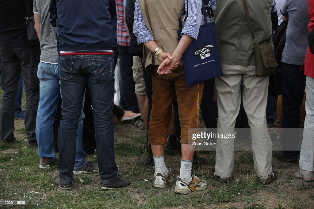 "Identitarian Movement Holds ""Europa Nostra"" Gathering : News Photo"