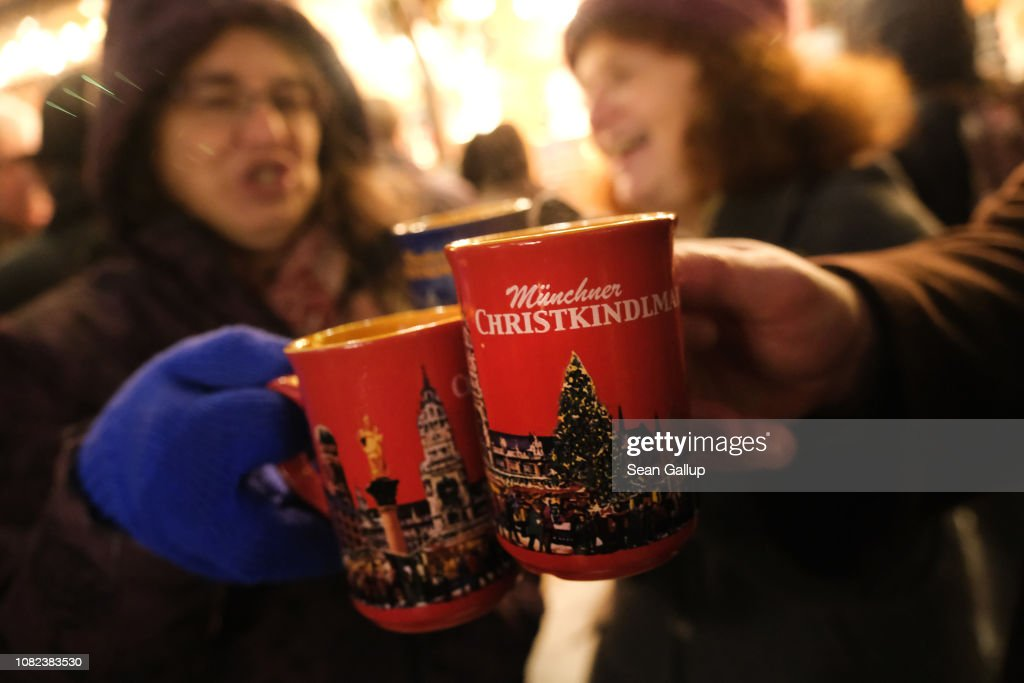Christmas Atmosphere In Munich : News Photo