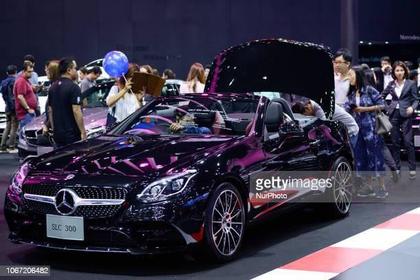 Visitors during Thailand International Motor Expo 2018 at Muang Thong Thani in Bangkok Thailand 01 December 2018