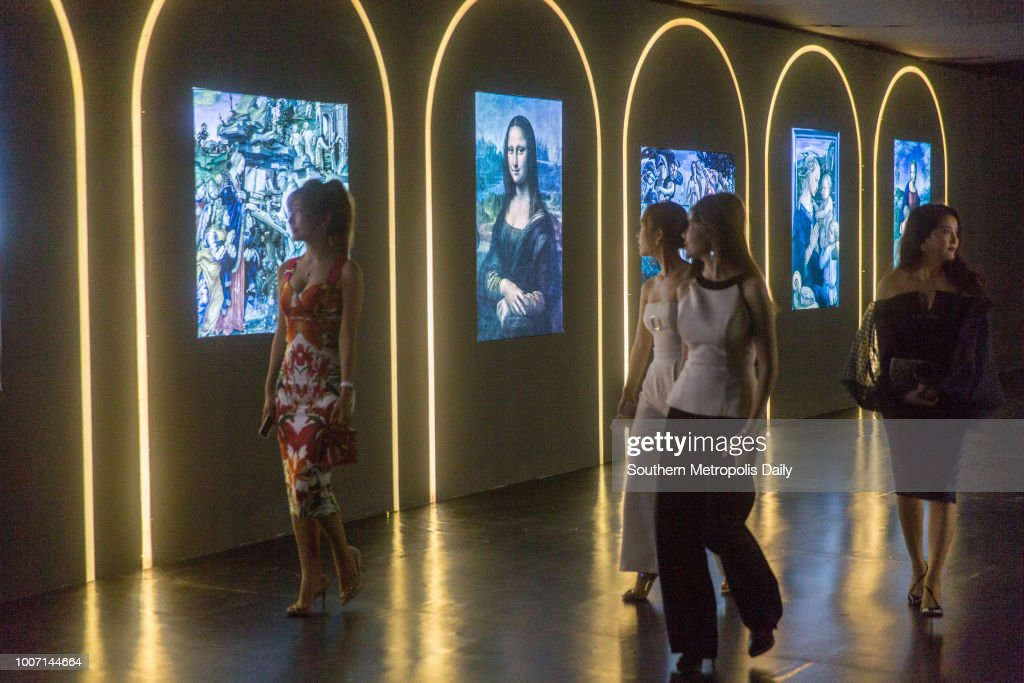 'Renaissance 2018, From Art To Heart' Exhibition In Guangzhou : News Photo