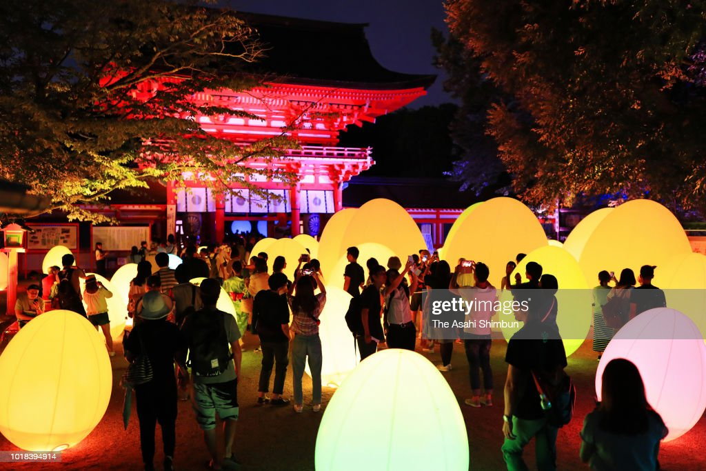 Art Exhibition 'Forest of Tadasu at Shimogamo Shrine' Begins