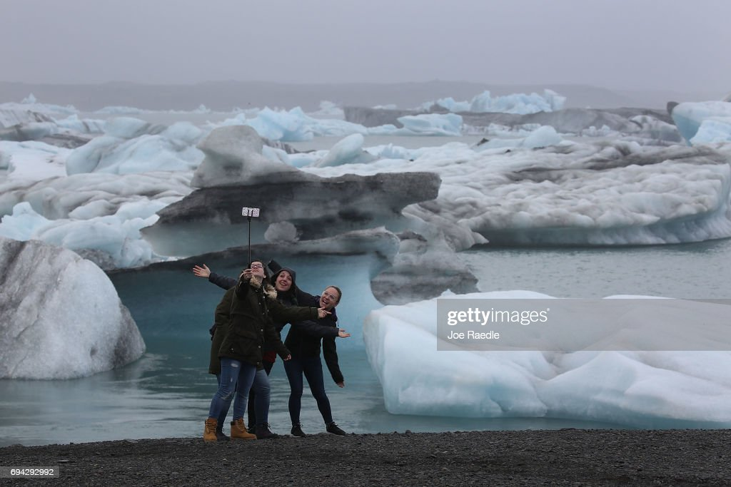 Iceland's Tourism Industry Thriving : News Photo