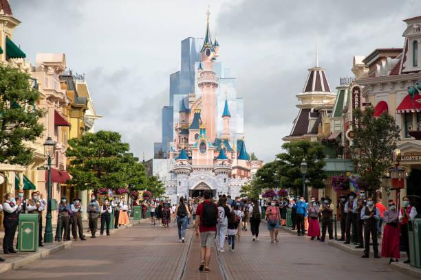 FRA: Disneyland Paris Reopens To Public