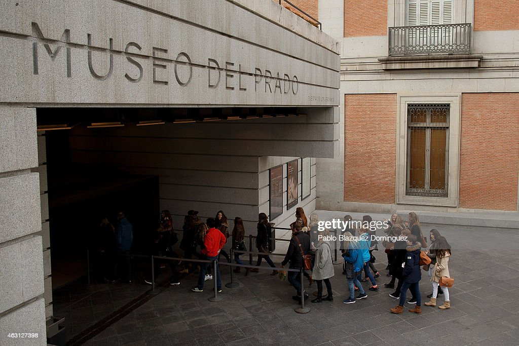 Paintings For Vision-Impaired People At The Prado Museum : News Photo