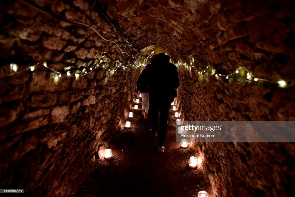 Underground Christmas: Festive Market In A Disused Mine