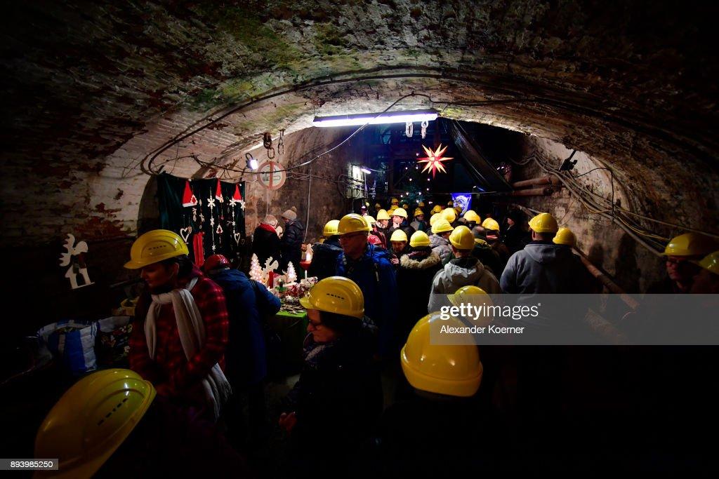 Christmas Market Underground In Former Rammelsberg Mine