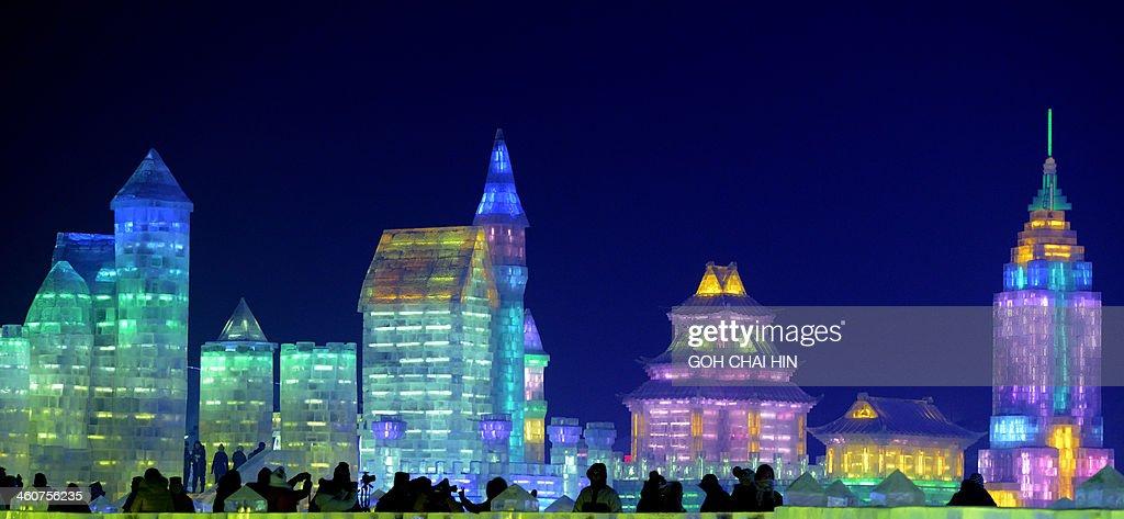 CHINA-LEISURE-ICE FESTIVAL : Foto di attualità