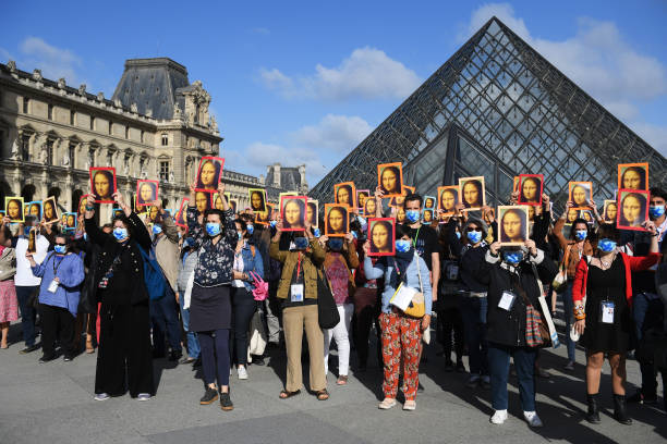 FRA: Le Louvre Museum Reopens To The Public