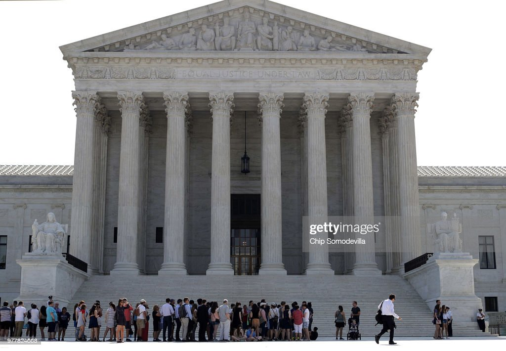 Supreme Court Hands Down Opinions In Five Cases : News Photo