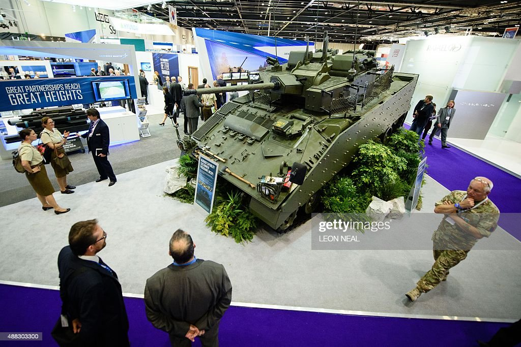 BRITAIN-DEFENCE-INDUSTRY : News Photo