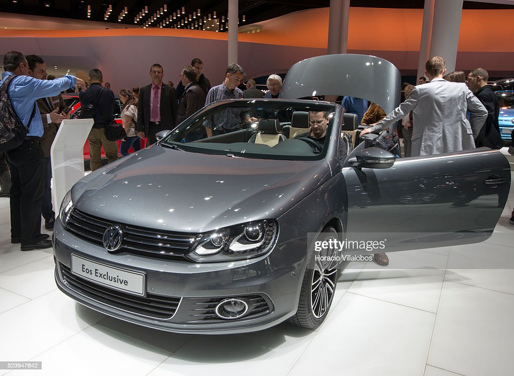Germany Frankfurt Auto Show Pictures Getty Images - Eos car show