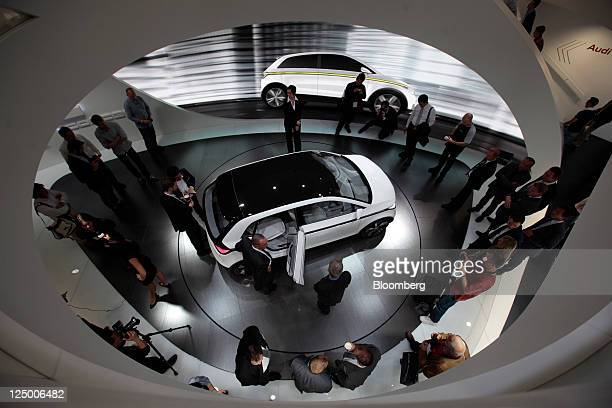 Audi A2 Concept Stock Photos And Pictures Getty Images