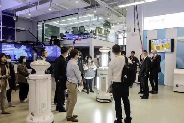 CHN: Inside the TMI Robotics Technology Co. Medical Robot Manufacturer Showroom