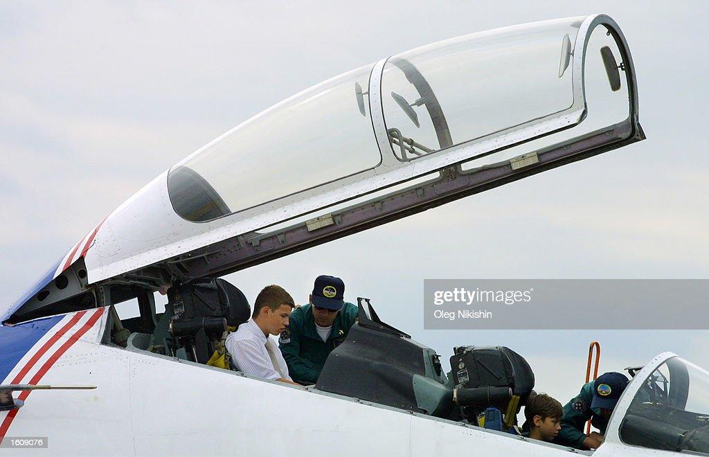 Planes Perform at Moscow International Air Show : Foto jornalística